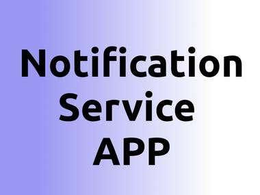 Facebook Notification App