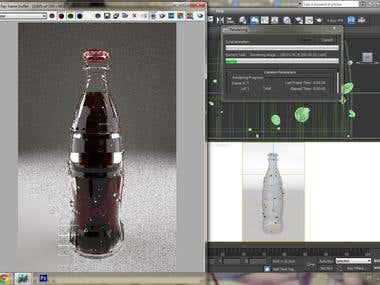 Modeling of coke bottle
