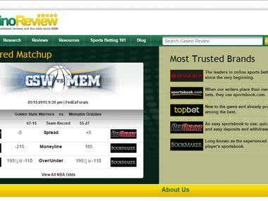 Wordpress -Online sportsbooks, casinos, and poker sites