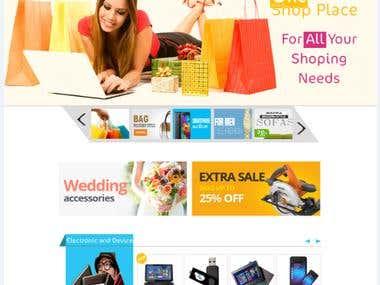 e-shopping site