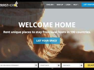 Space booking marketplace