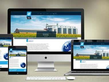 Responsive wordpress website with Bootstrap 3