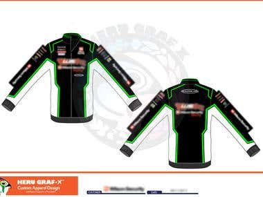 Custom Motorsport Apparel Design
