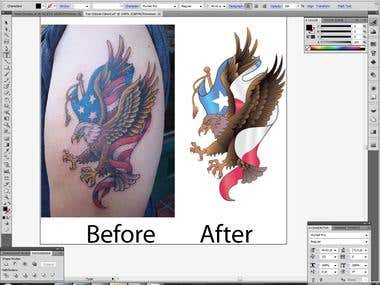 Tattoo Illustration
