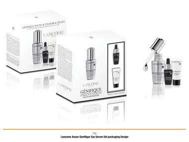 Lancome Packaging Design