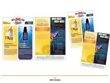 Kiehl\'s brochure