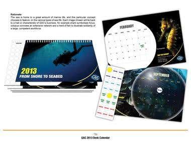 GAC Desktop Calendar