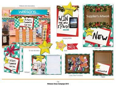 Watson Christmas 2012 Campaign