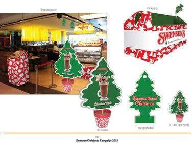 Swensens Christmas Campaign 2012