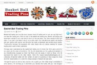 PHP WordPress (Basket Ball Trading Pins)