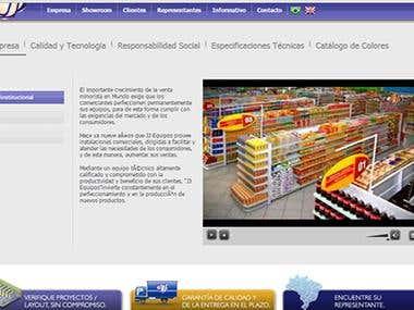 Traducción website empresa JJ Instalações Comerciais