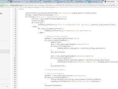 JSon document