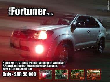 Fortuner Ad