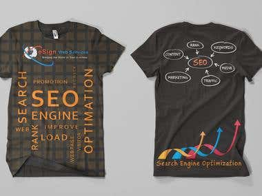 T-Shirt Mockup for eSign