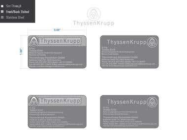 vCard for Thyssen Krupp