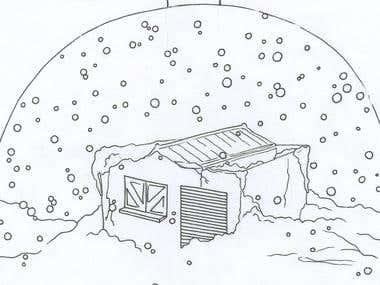 "Illustratios for \\\""The Trip\\\"""