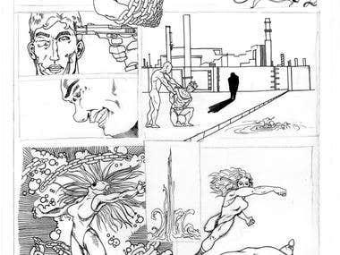 Graphic Novel /sketches