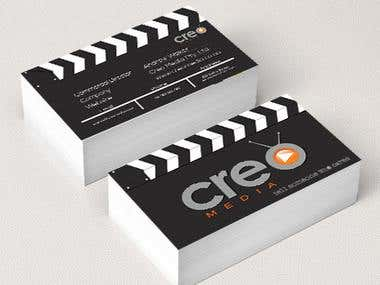 Creo Media Business Card Design