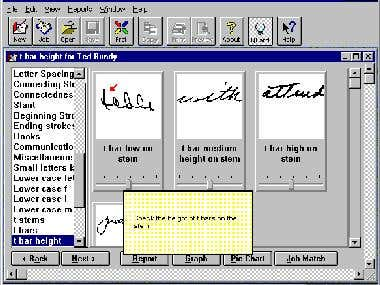 Handwriting Examination Software