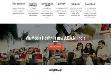 WEBSITE - WORDPRESS - Health Consultancy Company