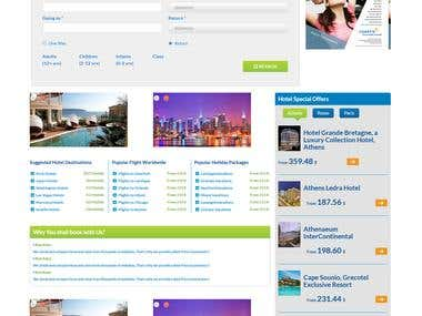 hotels booking site - flights - tours - cars booking site