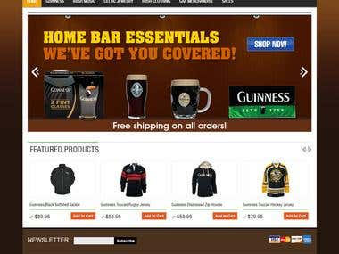 WEBSITE - MAGENTO - ECOMMERCE