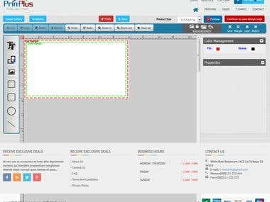 HTML 5 Tool - Printing Tool