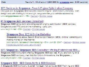 7 Months SEO Campaign - Google, Bing, Yahoo