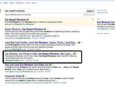 10 Months SEO Campaign - Google