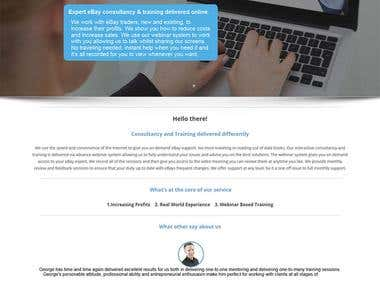 Wordpress - Academy - training and consultancy site.