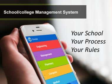 School/college Management System