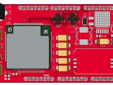 SIM908 Arduino Mega R3 Shield