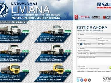 Landing page Dupla mas liviana