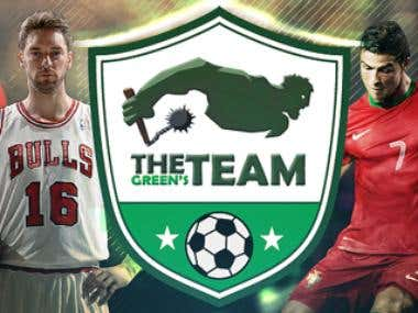 The Green\'s Team Header