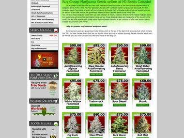MJ Seeds Canada - Buy Marijuana Seeds For Sale Online (WP)