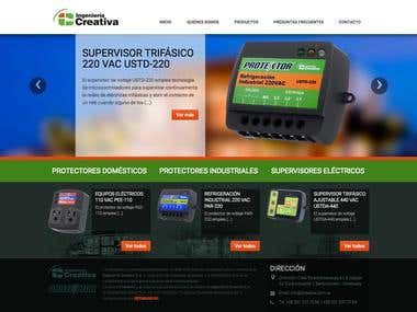 Ingenieria Creativa - Corporate WebSite