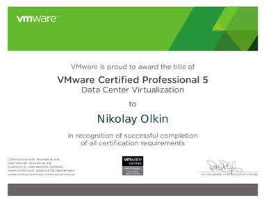 VMWare VCP-DCV5