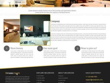 Property Rental Website