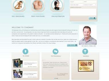 Responsive Home Page - Cosmetic Doctor
