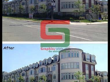 Real Estate  Image Manipulation.