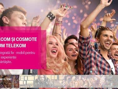 Styling and Costume // Telekom Launching Campaign in Romania