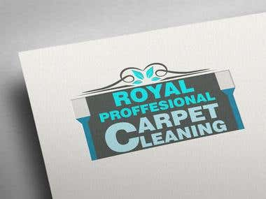 ROYAL PROFESSIONAL CARPET CLEANING logo