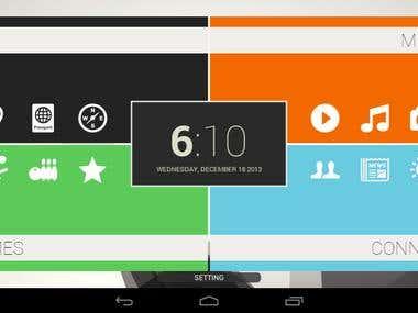 Smartphone Launcher app