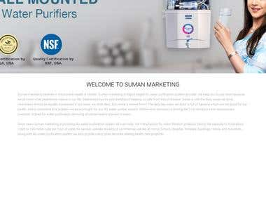 Sumanmarketingrajkot Website Developed in Core PHP