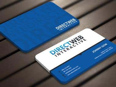 Design Business Card For Marketing Agency