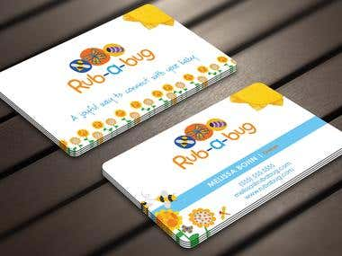 Design some Business Cards for Rub-a-Bug