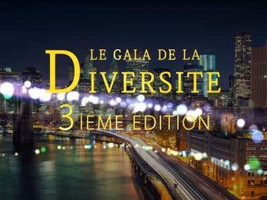 Vidéo Gala Diversité