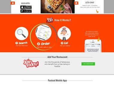 Online Fast Food Order