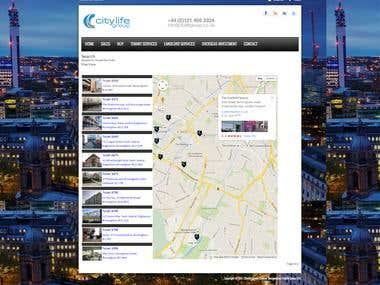 Joomla Real Estimate Website