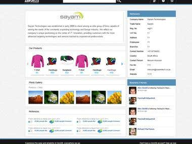 Social Network Website For Vendors